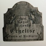 Digitally-squashed Ergelise gravestone