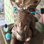 Making the eyes pop like the other Verdigris dragons