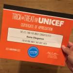 UNICEFcertificate