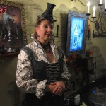 The Webmistress with her portrait