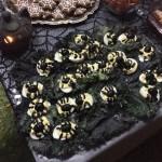 Creepy Cuisine winner: Sheila's Spider Deviled Eggs
