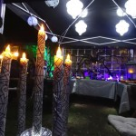 Canopy table lighting