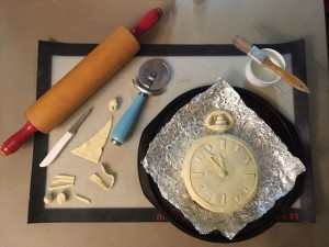 Making the Pastry Brie Pocket Watch