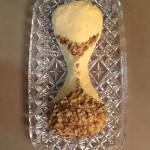 Cheese Hourglass with Walnut Sand