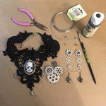Steampunk Accessories - jewelry plan