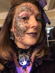 Steampunk Makeup Sunday - final closeup