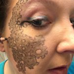 Steampunk Makeup Friday - outlining in pencil is worthless