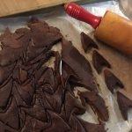 Cutting Chocolate Chevrons for S'more Trek