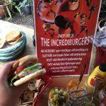 The Elastigirl chicken burger